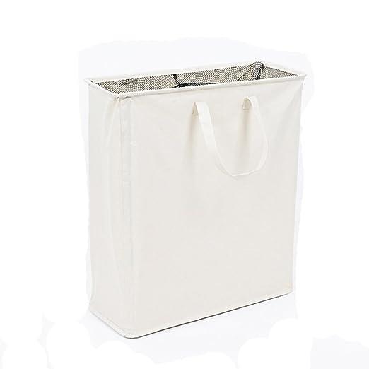 Grande plegable bolsas para ropa sucia con dos compartimentos ...