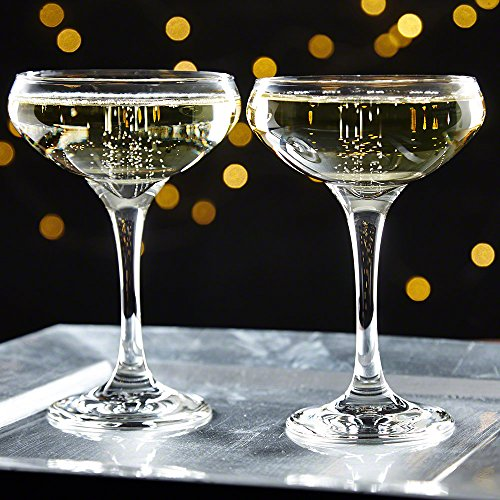 Gatsby Champagne Coupe Glasses, Set of - Great Glasses Gatsby