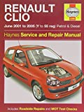 Renault Clio Petrol and Diesel Service and Repair Manual: 2001 to 2005 (Service & repair manuals) by A. K. Legg (2007-11-15)