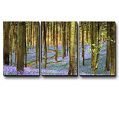 Three Piece Tree Forest During Spring Time with...16