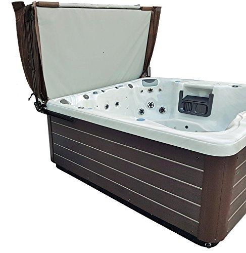 - Smart Spa - Pro Max AL3 Hydraulic spa hot tub Cover Lift w Dual Lifting Shocks