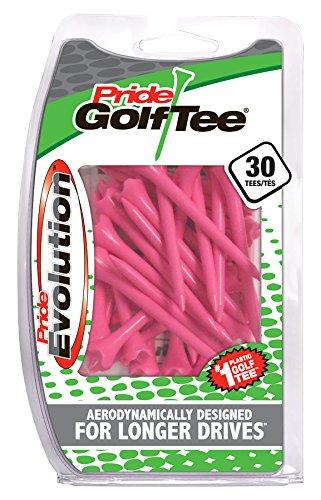 Pride Golf Tee Evolution Golf Tees (Pack of 30), 3-1/4