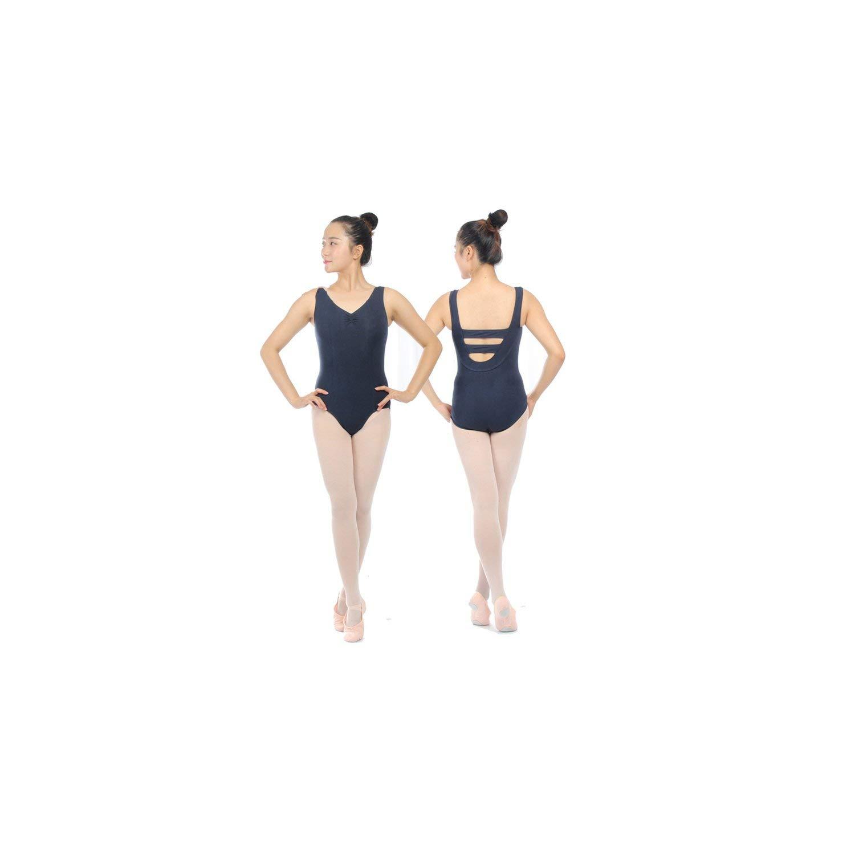 adult tank ballet Leotard for dance costumes girls ballet clothes for women gymnastics leotards,navy blue,XXL by Comfort-Place ballet dresses