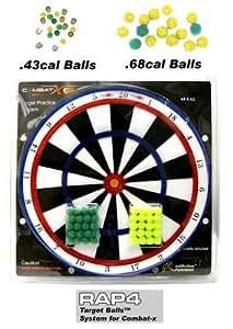 .68 Cal Target Balls™ System for Combat-x - paintballs