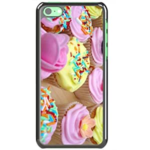 Apple iPhone 5C Cases Customized Gifts Of Food and Drink beautiful cake sweet full hd Black