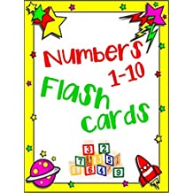 Numbers 1-10 Flash Cards
