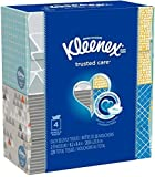 Kleenex Facial Tissue Upright 4 pack (Pack of 2, Total of 8 Boxes) price