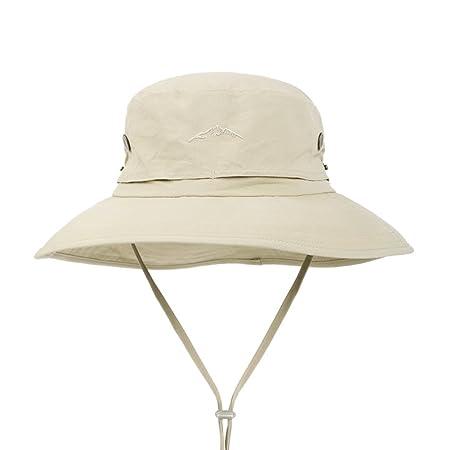 QIDI Sun Hat Summer Season Male Fashion Nylon Fisherman s Hat Basin Hat  (Color   Yellow)  Amazon.co.uk  Kitchen   Home 89d677f062aa