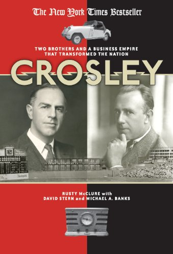 Crystal Cincinnati Reds Baseball - Crosley: Two Brothers and a Business Empire That Transformed the Nation