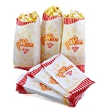 Hoosier Hill Farm Popcorn Case of 100 Premium Quality 1 Ounce (Oz) Popcorn Theater Style Bags Paper