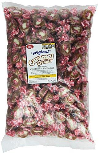 - Bullseyes Caramel Creams 5lbs