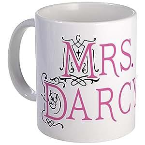 CafePress - Jane Austen Mrs. Darcy Mug - Unique Coffee Mug, Coffee Cup