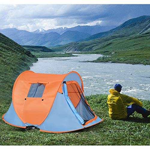 simplyUSAhello Portable Water Resistant Automatic Pop-up Tent