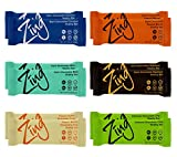 Zing Vital Energy Nutrition Bars, Variety Pack, (12 Bars), High Protein, High Fiber, Low Sugar, Most Popular Flavors, 4 Chocolate Coated, 2 Soft Cookie Dough
