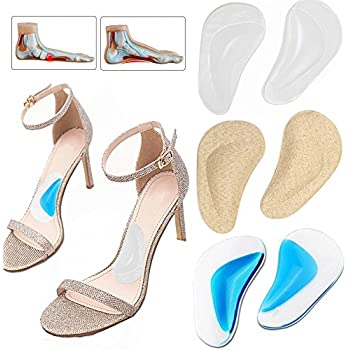 Amazon.com: Silicone Arch Support Insoles Flat Feet