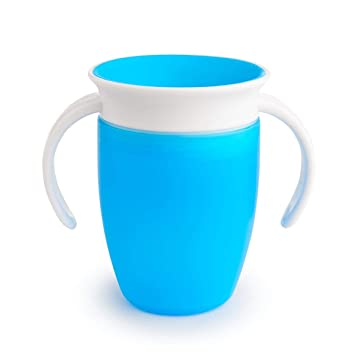 munchkin miracle 360 degree trainer cup 7 oz 207 ml blue amazon