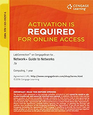 Online LabConnection (12 months) Printed Access Card for Dean's Network+ Guide to Networks, 7th