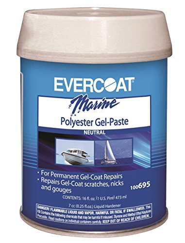 FIBRE GLASS-EVERCOAT CO Polyester Gel Paste Pint - Fiberglass Evercoat Gel