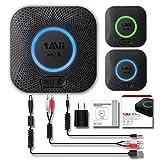 1Mii B06 Plus Bluetooth Receiver, HiFi Wireless Audio Adapter, Bluetooth 4.2 Receiver