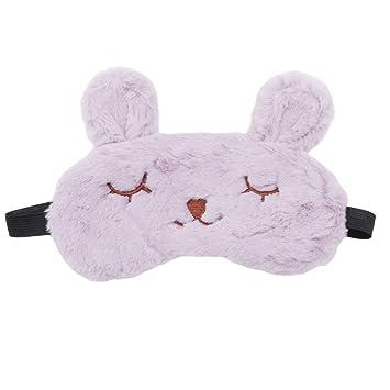 Yinew - Antifaz de Conejo, Suave, Ajustable, para Dormir ...