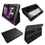 iGadgitz Black PU Leather Case Cover for Samsung Galaxy Tab P7500 P7510 10.1 3G & WiFi Android 3.1 Honeycomb Internet Tablet