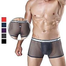 Chris&Je Mens Athletes Quick Dry Boxer Under Pants Undergarment