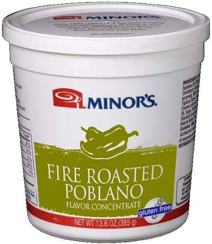 Chiles Poblano - Minor's Fire Roasted Poblano Flavor Concentrate