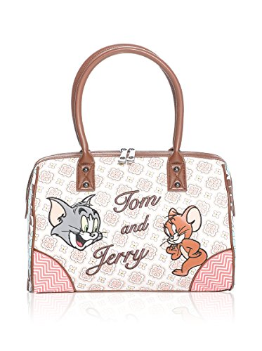 Hoy Collection Borsa A Mano Tom & Jerry Hipster Multicolore Unica