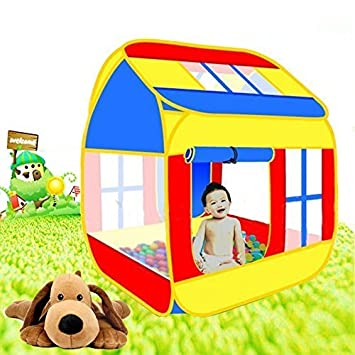 PIGLOO™ Childrens Pop-up Play Tent House For Kids Indoor u0026 Outdoor Play  sc 1 st  Amazon India : childs pop up play tent - memphite.com