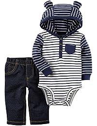 Del Carter bebé Boys '2 piezas Body con capucha pantalones Set