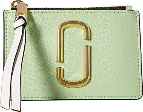 (Marc Jacobs Women's Snapshot Top Zip Multi Wallet Mint Multi One Size)