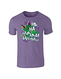 Pop Threads Joker Laugh HA HA HA Short Sleeve T-Shirt