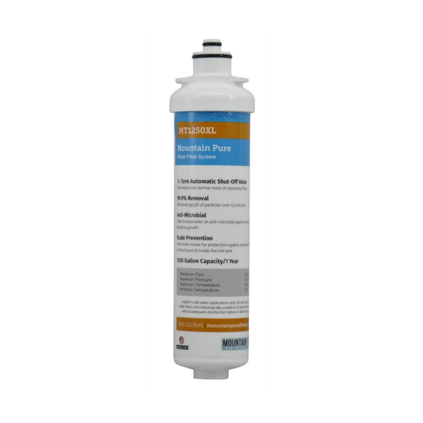 Mountain Plumbing MT1250XL/RFC Mountain Pure Carbon Replacement Filter