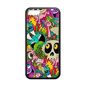 [Accessory] iPhone 5c Case, [creative pattern] iPhone 5c Case Custom Durable Case Cover for iPhone5c TPU case (Laser Technology)