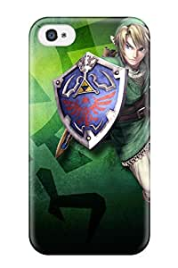 Stacey E. Parks's Shop Discount TashaEliseSawyer Fashion Protective Link In The Lost Woods Case Cover For Iphone 4/4s 3294566K67387307