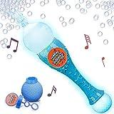 ArtCreativity Light Up Musicale Bubble Blower Wand 13.5 Illuminating Bubble Blower Wand w/ Thrilling LED and Music Sound Effect for Kids