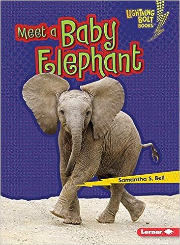 Descargar Meet A Baby Elephant PDF