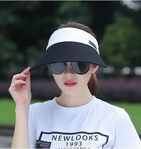 Black hat Women's Adjustable Beach Floppy Sun Hat