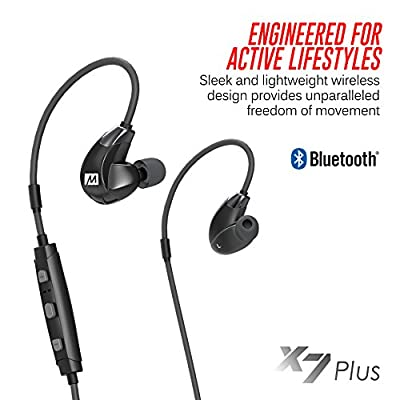 MEE audio X7 Plus Stereo Bluetooth Wireless Sports In-Ear HD Headphones