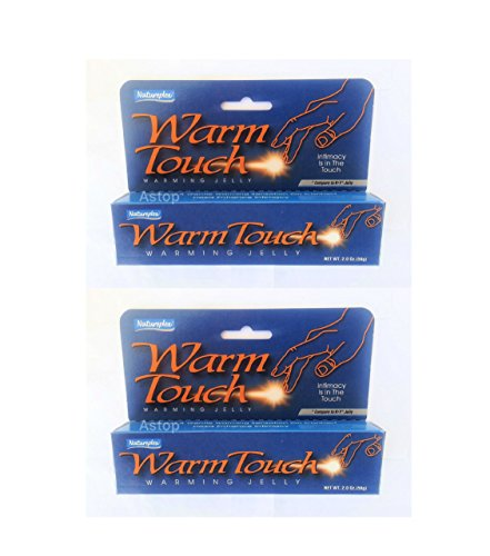 "Natureplex(r)'s ""Warm Touch"" Warming Jelly - Compare to K*y Jelly, 2 Oz Tubes - 2 Pack!"