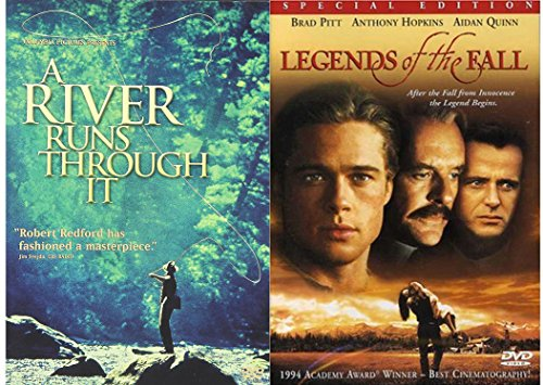 Brad Pitt 2-Movie Collection A River Runs Through It & Legends of the Fall 2-DVD Bundle