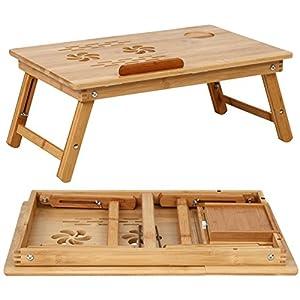 Miadomodo tavolino da letto portatile tavolino letto pc bamb multifunzionale prodotto consigliato - Poggia computer da letto ...