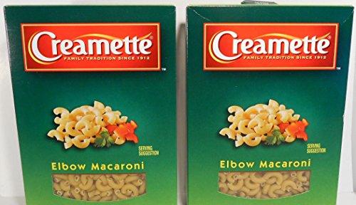 Creamette Elbow Macaroni Pasta (CASE OF 12) 7 oz Boxes (Pasta 7 Ounce Box)
