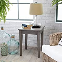 Turner End Table - Gray