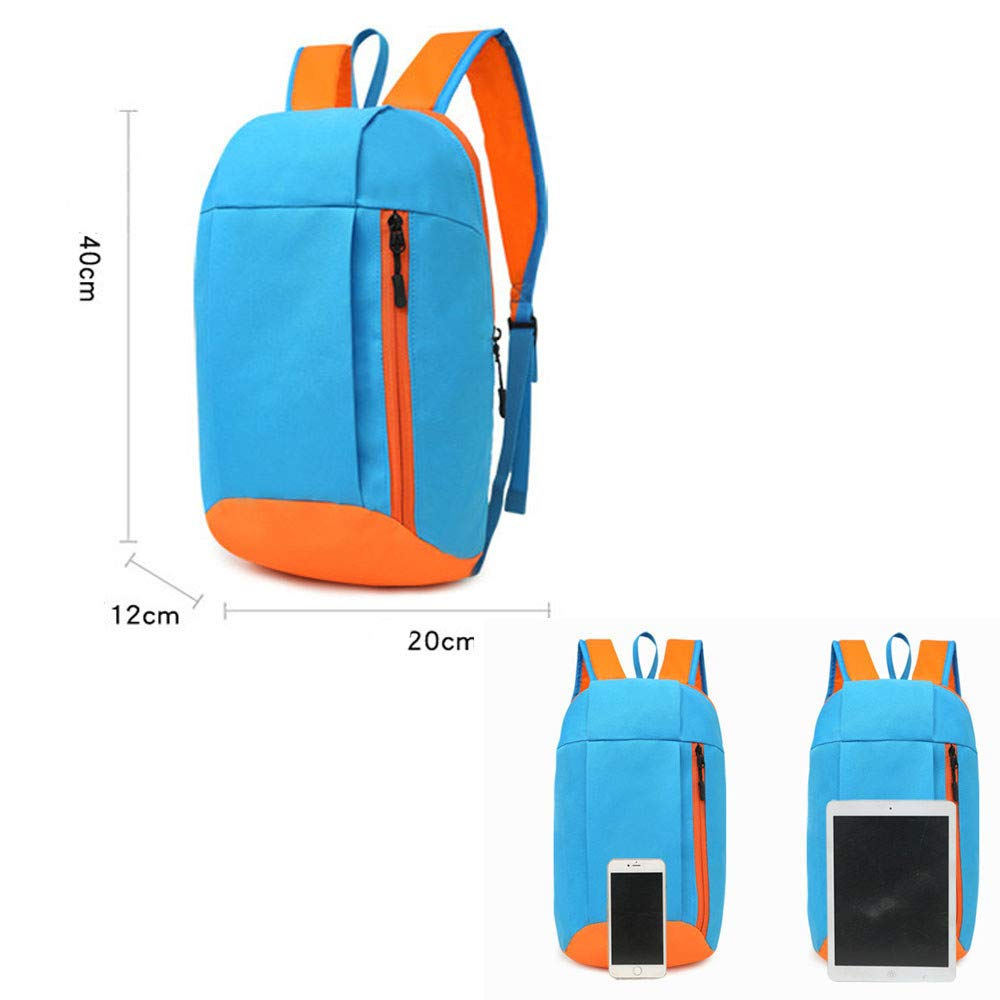 Tantisy /♣↭/♣ Backpack Men Women UnisexTrunk Shape Canvas Lightweight Packable Durable Travel Hiking Daypack