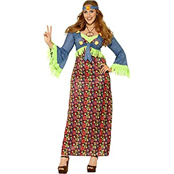 60s Costumes: Hippie, Go Go Dancer, Flower Child Hippie Costume (large) $42.08 AT vintagedancer.com