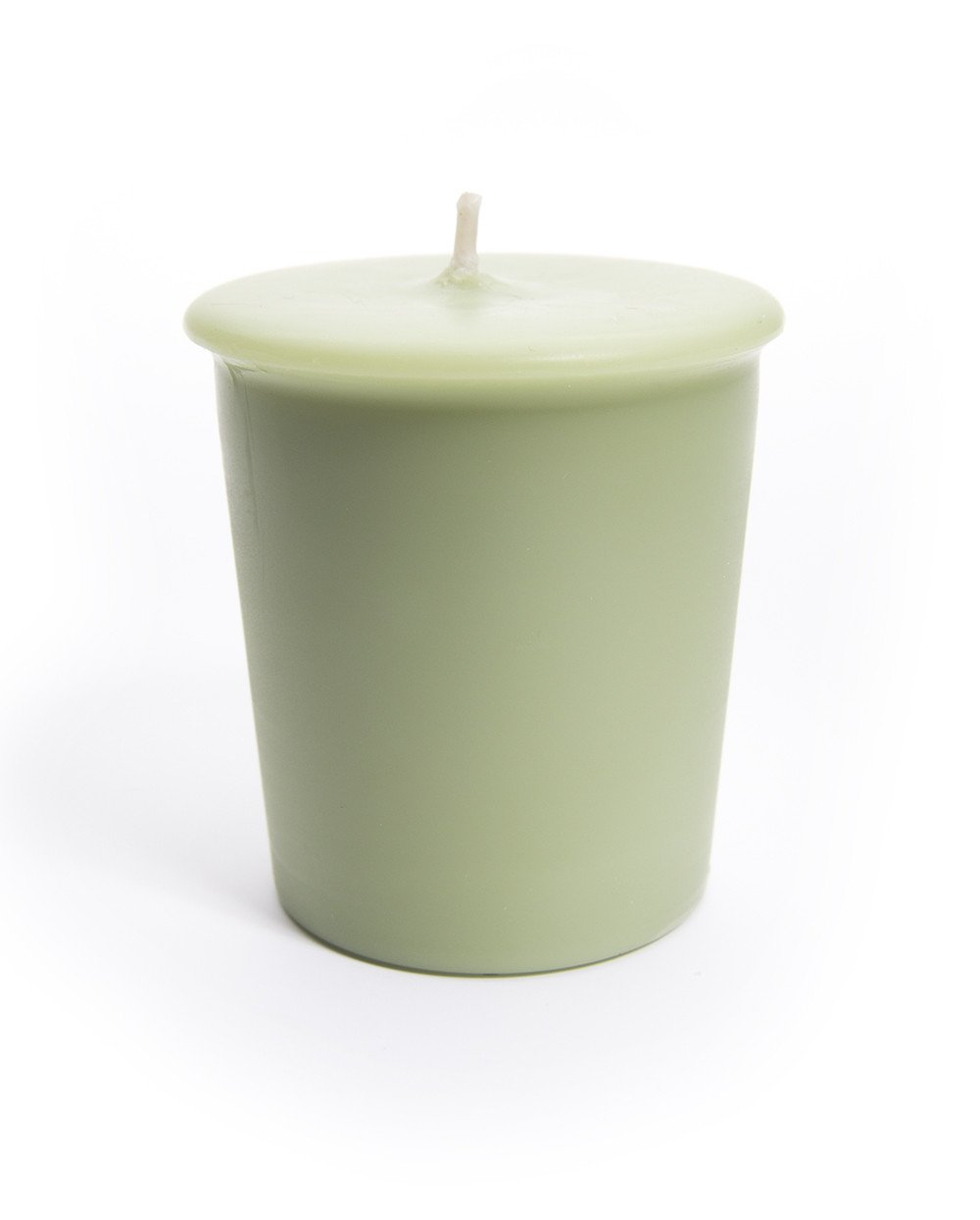 Clean Votive Candle Collection Cucumber Melon Votive Candles Green Soy Votives 6-Pack Highly Scented