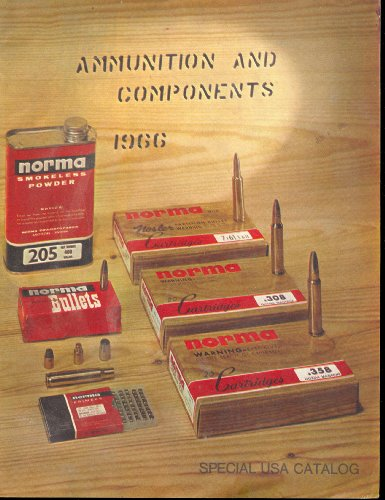 Norma Ammunition and Component Catalog 1966