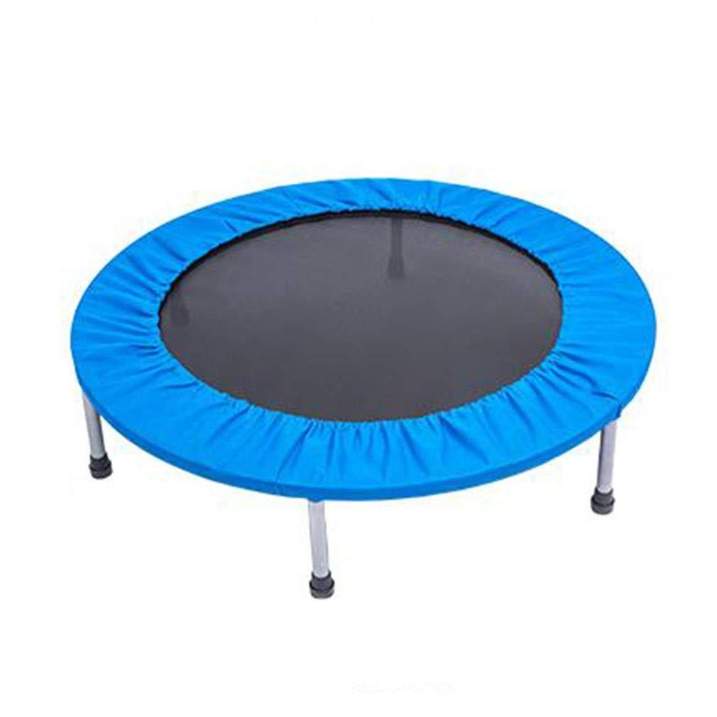 Blau 90X25CM ZQ QZ Kindertrampolin Sicherheits-Auflage Fitness-Trampolin Sportspielzeug Indoor Kindertrampolin (Farbe   Blau, Größe   90X25CM)