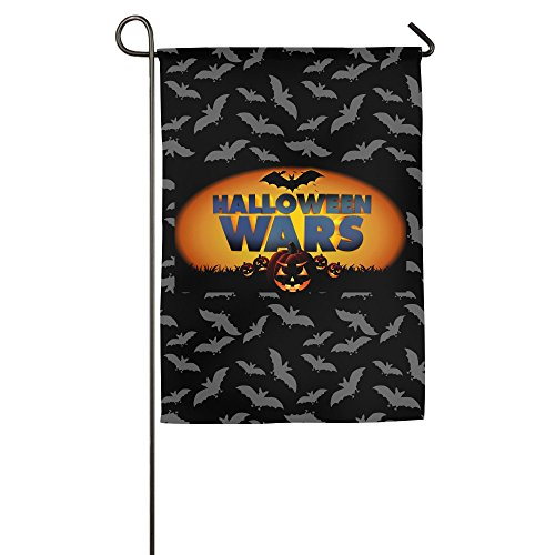 Halloween Wars 100% Polyester Home Flag Garden (Origin Of Halloween Hallows Eve)